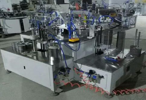 Линия для производства эластичных лепестковых шлифовальных кругов